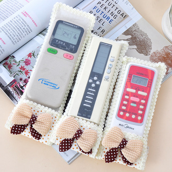 Home sweet bow tv remote control dust cover protective case e158