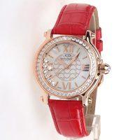 Women's watch fashion vintage genuine leather watch crystal trend rhinestone table