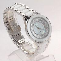Exquisite crystal titina lady ceramic watch brief sallei women's watch jctg93