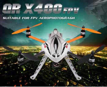 F04887 Walkera QR X400 FPV UFO Series 6 Channel DV04 Camera VGA 1280*720 RC Helicopter DEVO F7 RTF + Free shipping