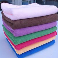 Free shipping superfine fiber Children's bath towel 120*60cm (can choose color) 180g