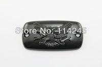 Black Brake Fluid Reservoir Cap For Honda Valkyrie Goldwing 1500 1800 VTX 1800 motorcycle parts