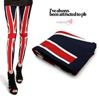 Kawaii popular mainstream dress fashion Leggings British flag