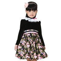 Children's clothing female child spring 2012 spring and autumn long-sleeve child one-piece dress princess dress tulle dress