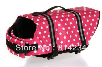Hot sale 2013 Oxford Dog swimwear clothing  pet life jacket vest safety clothing XS to XXL free shipping