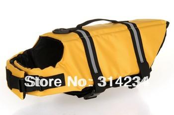 2013 Hot sale dog's clothing pet swimwear safety life jacket vest wholesale&retail free shipping