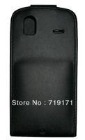 2pcs/lot free ship New Black Shine leather case for HTC G22 Amaze 4G ,Pouch case   +1pcs film