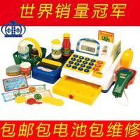 Supermarket cash register belt computer electric child toy gift