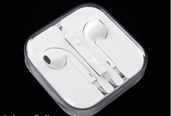Free Shipping Stereo earphone headset headphone Good Sound Quality for iPhone 5 4/4S in original box(China (Mainland))