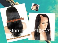 100% 5AAAAA quality Malaysia hair u part wigs free shipping + beautiful Gift