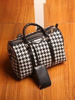 Autumn and winter classic houndstooth BOSS bag for handbag women's handbag women's handbag