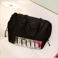 2013 fashion street style brief large bag shoulder bag handbag hardware piano handbag large bag female bags
