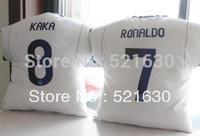 12-13 season, real Madrid ronaldo jersey 7 8 kaka pillow