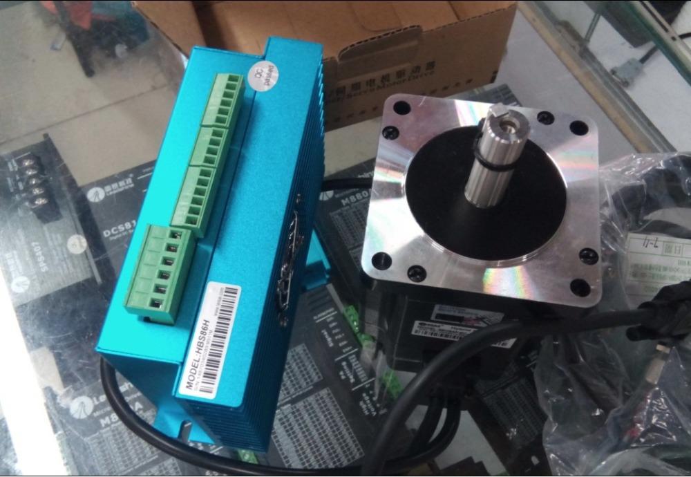 New Leadshine Hybrid Servo Drives HBS86H and Hybrid servo motor 86HS80 EC 1000 a set can