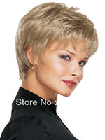 New Short Blonde Women's / Girl Wig    Y10