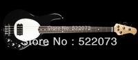 best china guitar Ernie Ball Music Man StingRay Electric Bass Guitar Black OEM Musical