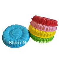 free shipping silicone cake tools Mould/ Baking Pans rubber molds
