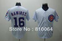 American baseball jerseys wholesale 16 Ramirez jersey free shiping