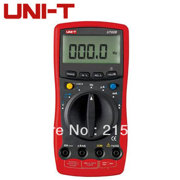 100% New UNIT-T UT60B LCD Modern Digital Multimeters AC DC Volt Amp Ohm Capacitance Hz Tester Meter Auto Ranging UT-60B