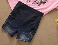 Super sale maternity short  jean pants 2012 fashion pregnant wear summer jean S M L XL XXL Retail&Wholesale DC-009