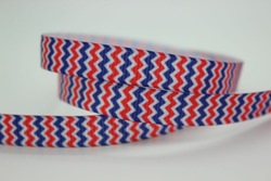 3/8'' Free shipping stripe chevron colors printed grosgrain ribbon hairbow diy party decoration wholesale OEM 9mm H149(China (Mainland))