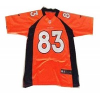 wholesale NEW football jerseys Broncos 83 Wes Welker  Jerseys free shipping
