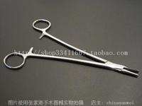 High quality stainless steel medical needle plier acutenaculum 18cm