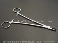 High quality stainless steel medical needle plier acutenaculum 18cm