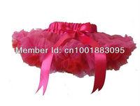 hot sale Fashion girls skirt  infant ball gown chiffon skirt baby tutu skirt