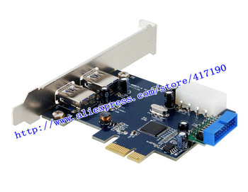 Free Shipping USB 3.0 PCIE riser card 828U3C2 +2 blending, supports transfer rate of 1.5 ~ 5GBPS
