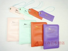 Fashion multifunctional travel passport holder 4 passport bag ticket folder belt(China (Mainland))