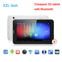 New 7 inch  Built in 3G  Android 4.0 Dual camera Tablet PC  + Bluetooth + Phone call 3G