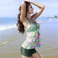Vega 2013 poem corrugated small fresh steel women's hot spring beach swimwear