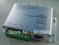 CCTV 4CH Channel Passive Video BNC to UTP RJ45 CAT5 Camera DVR Balun,4CH Passive Video Balun
