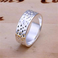 R169 Size 6,7,8,9 925 silver ring, 925 silver fashion jewelry, fashion ring