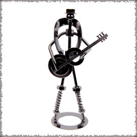 Free shipping Guitar fashion modern decoration rustic home accessories crafts decoration