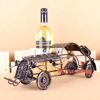Luxurious pure manual car model wine frame, gift wine rack, retro gifts of wine rack