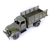 Free shipping Large truck model modern home decoration bar decoration vintage art crafts