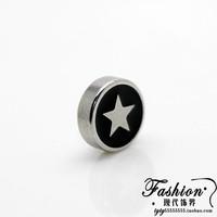 Hot-selling fashion stud earring no pierced magnetic magnet stud earring male