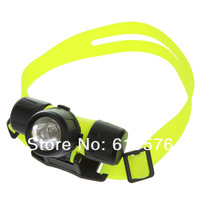 Ultra Bright Professional CREE Q5 LED Waterproof 30m Swimming Diving Torch Headlamp Headlight Head Lamp Light Free Shipping