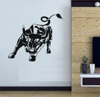 Free shipping Wall Decal Wall Stickers Wall  Decoration Vinyl Removable Art Mural cattle ox d-104