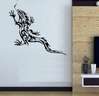 Free shipping Wall Decal Wall Stickers Wall  Decoration Vinyl Removable Art Mural lizard d-108