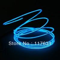 EL Wire - 2.3m - 2.3mm -blue - Cigarette Charger