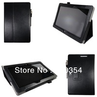 Free Shipping Stand Leather case book cover protective shell skin For Asus VivoTab Smart ME400C