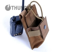 Thunder molle short batphone bag black tan brown green muddy