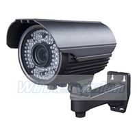 60pcs IR led 1/3'' Sony Effio CCD 700TVL Varifocal 2.8-12mm CCTV Camera Outdoor Bullet Kamera Waterresistant 50m IR night vision