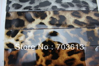 """Free shipping, Retail and wholesale shinny plain leather,Leopard leather,handbag leather  MOQ 1Y 1.3mm *54""""+-5%  YX-2939"""