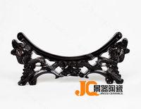 Quality porcelain plates mount 35cm decoration plates crafts decoration