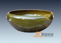 Antique ceramic classical decoration tea dust glaze water Large goldfish bowl