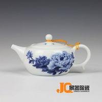 Blue and white glaze pot teapot fashion gift